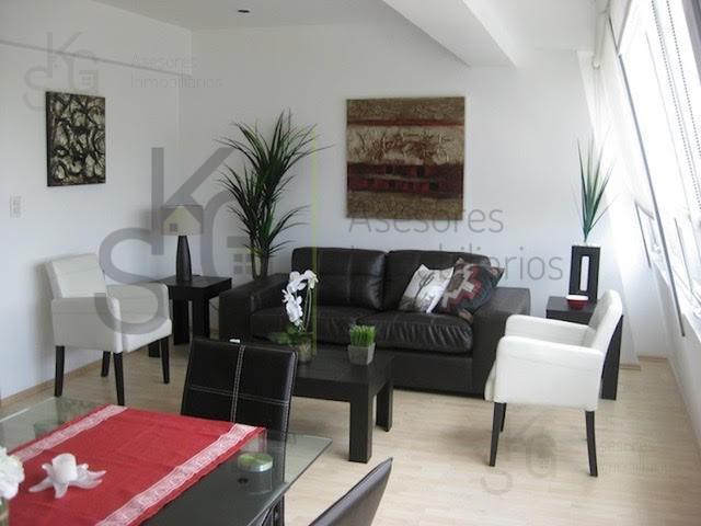 Foto Departamento en Renta en  Polanco,  Miguel Hidalgo  SKG Asesores Inmobiliarios Rentan Departamento Amueblado en Ejercito Nacional, Polanco