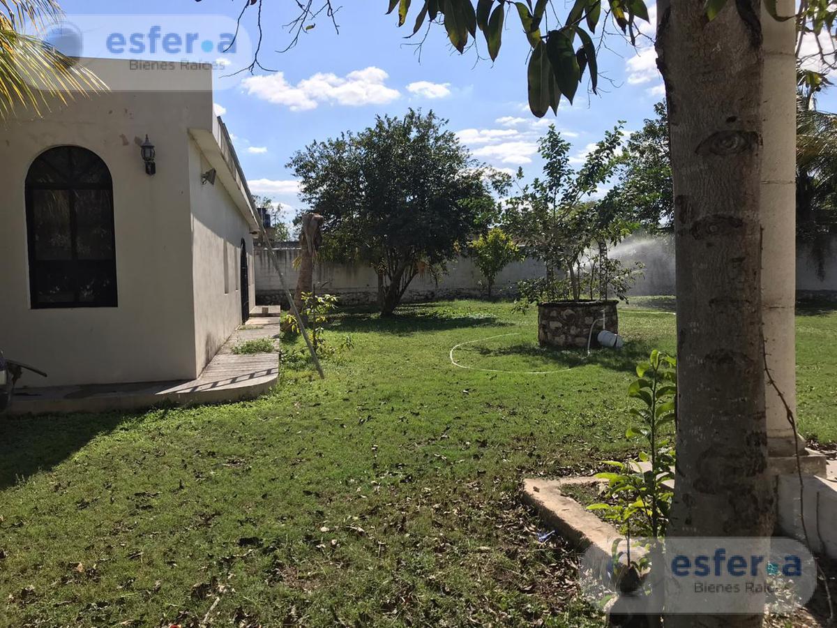 Foto Terreno en Venta en  Santa Gertrudis Copo,  Mérida  TERRENO EN VENTA CON CONSTRUCCION EN MERIDA, ZONA AAA  | SANTA GERTRUDIS COPÓ