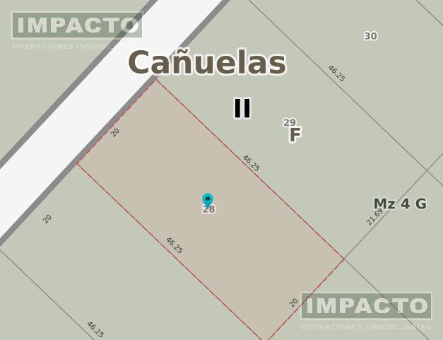 Foto Terreno en Venta en  Santa Rosa,  Cañuelas  Segundo Sombra a 150mt de acceso San Martin