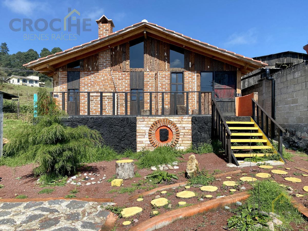 Foto Casa en Venta en  Pueblo Las Vigas de Ramirez,  Las Vigas de Ramírez  Cabaña en venta en Las Vigas de Ramírez Veracruz , Amplio jardín hermosa vista , acceso directo