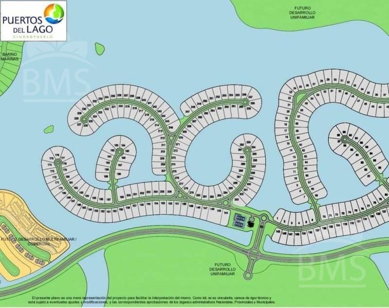 Foto Terreno en Venta en  Muelles,  Puertos del Lago  Puertos del Lago - Muelle