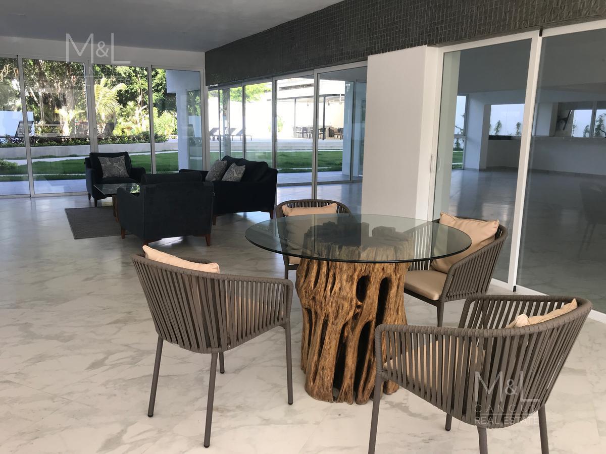 Foto Departamento en Venta | Renta en  Residencial Palmaris,  Cancún   Departamento en Venta o Renta  en Cancún, PALMETTO 20  GARDEN 2, 3 recámaras,  Palmaris