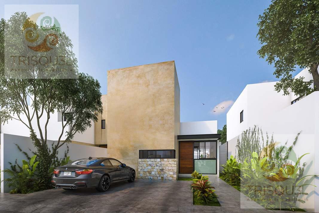 Foto Casa en condominio en Venta en  Pueblo Cholul,  Mérida  Casa en Venta de un Piso Gardena Residencial (Mod Begonia)Cholul,Mérida Yucatán