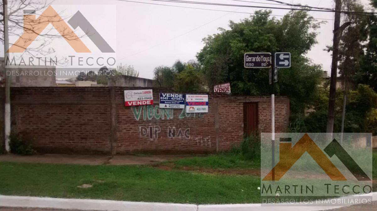 Foto Terreno en Venta en  Concordia ,  Entre Rios  Lamadrid y Gerardo Yoya