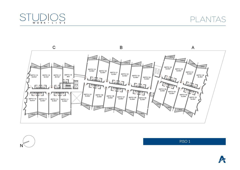 Departamento-Venta-Del Viso-Studios de Ayres Vila