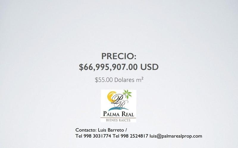 Foto Terreno en Venta en  Tulum,  Tulum  TERRENO HOTELERO 1250 M DE MAR