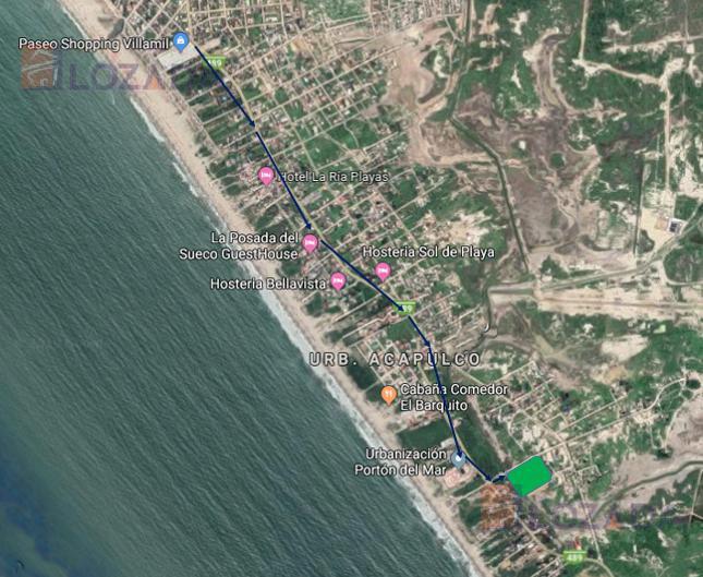 Foto Terreno en Venta en  Sur de Playas,  Playas       Vendo Terreno Playas Via  Data 14.665 m2